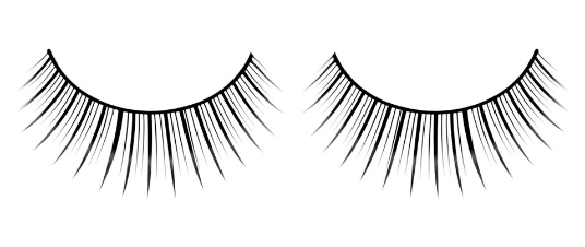 Baci Eyelashes, Black Premium Eyelashes, BC656
