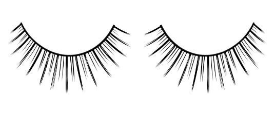 Baci Eyelashes, Black Premium Eyelashes, BC659