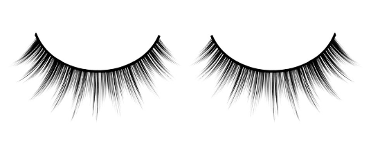 Baci Eyelashes, Black Premium Eyelashes, BC665