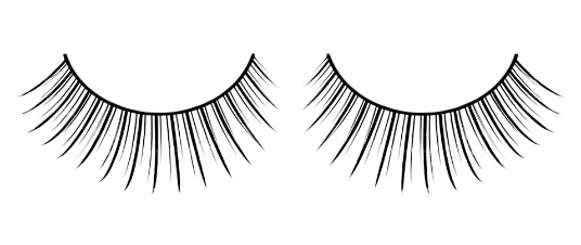 Baci Eyelashes, Black Premium Eyelashes, BC666