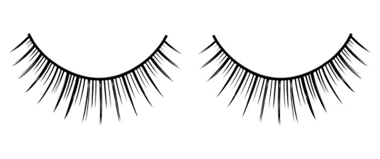 Baci Eyelashes, Black Premium Eyelashes, BC669