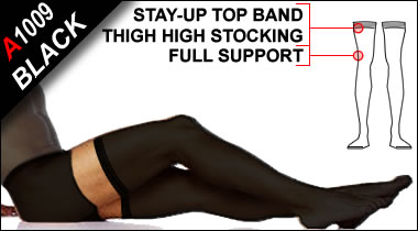 Activskin Support Stockings - Black