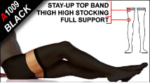 Thermofabric Support Opaque Stockings