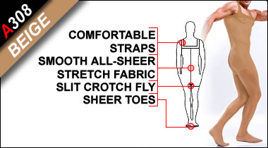 Sheer Bodystocking, Fashion Trend for Men