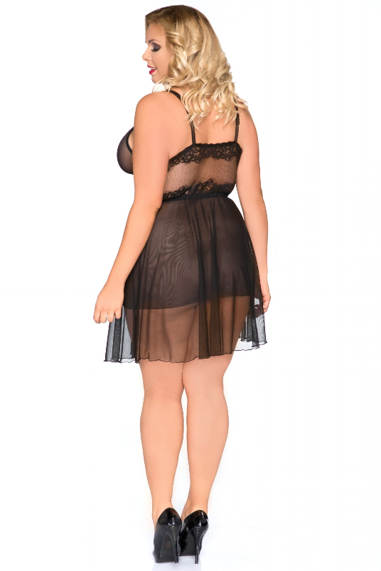Sexy Plus Size Lingerie, Andalea Chemise in Plus Sizes