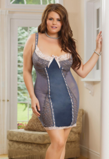 Sexy Plus Size Chemise