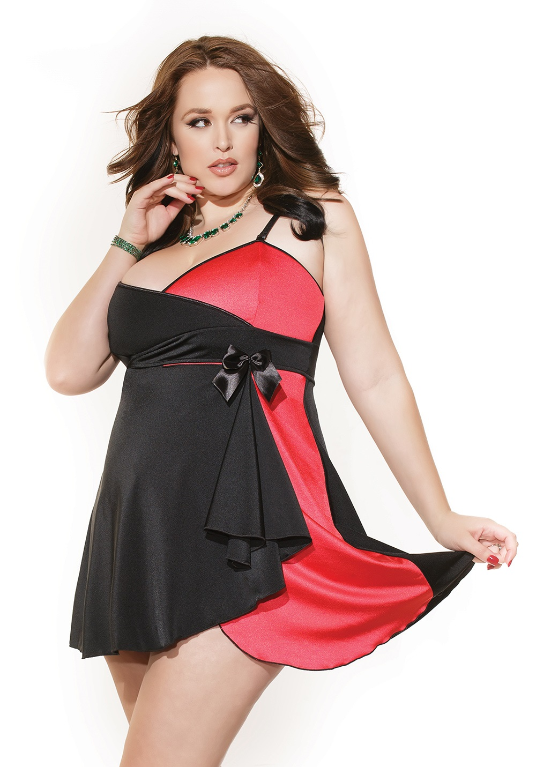 Coquette Sexy Babydoll for Curves ships from the Greater Toronto area