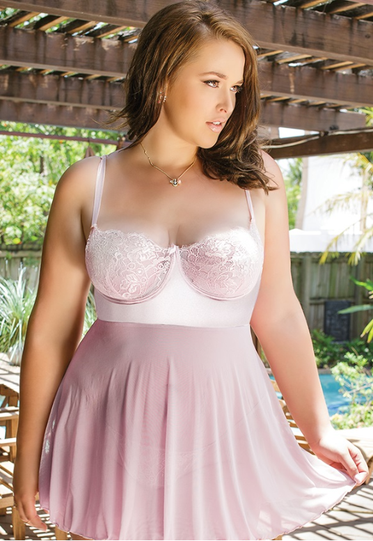 Plus Size Lingerie Canada in sizes 1X/2X, 3X/4X