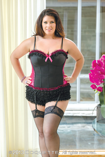 Plus Size Bustier by Coquette 1050