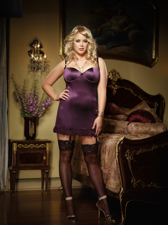 Plus Size Lingerie by Dreamgirl, 3644X