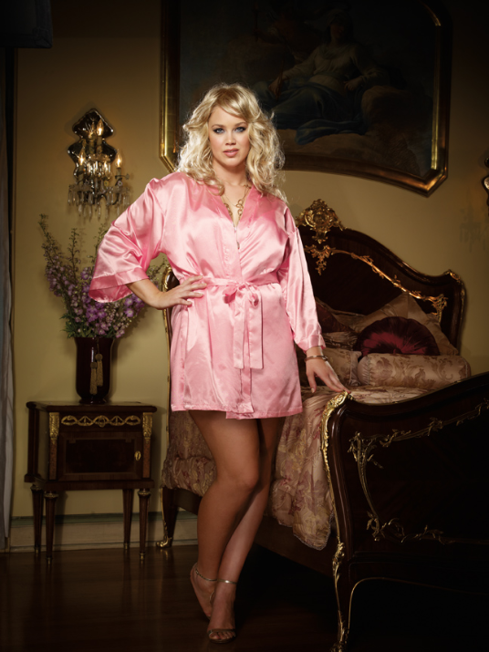 Charmeuse Low Back Sleepwear Babydoll