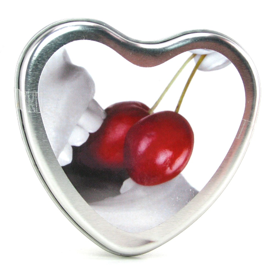 Edible Massage Oil Heart Candle, Great for Valentines