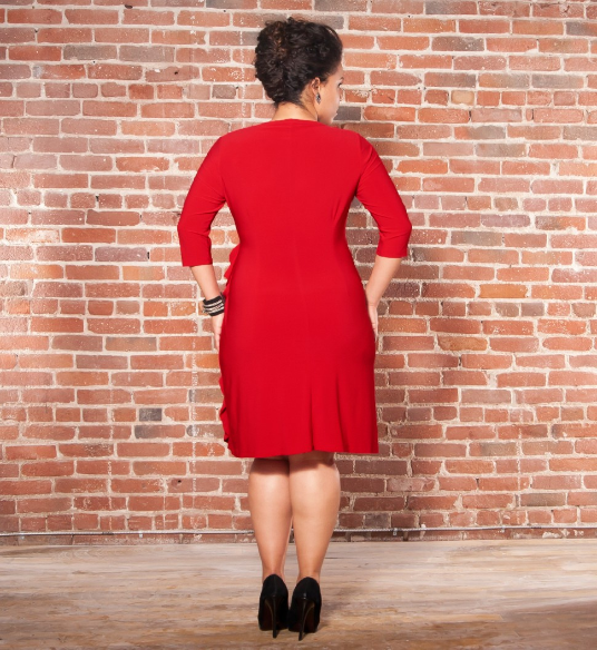 Canadian Plus Size Fashion, Plus Size Dress