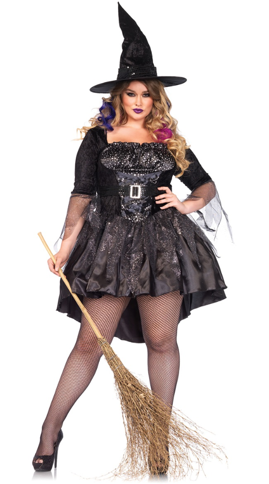 Sexy Costume in Plus Sizes, 1X/2X, 3X/4X