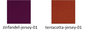 Color Swatches - Zinfandel, Terracotta