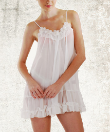 Sophie Chemise with Pearls