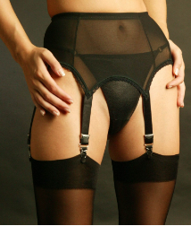 Luxury 6 Strap Garter Belt