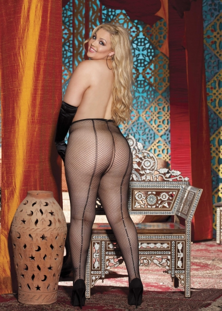 Sexy Plus Size Pantyhose, Shirley of Hollywood X90252