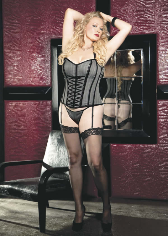 Shirley of Hollywood Plus Size Corset, x25982