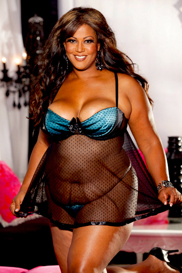 Plus Size Lingerie by Shirley of Hollywood, X20499 - Plus Size Babydoll