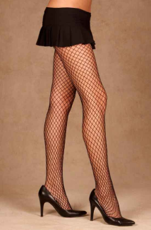 Spandex Diamond Net Pantyhose