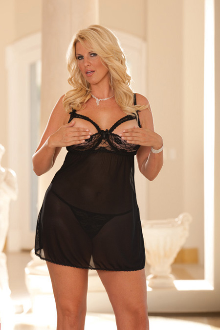 Lingerie Canada, Open Cup Babydoll