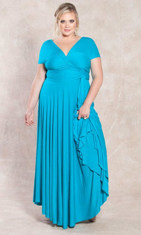 Anastasia Plus Size Maxi Dress