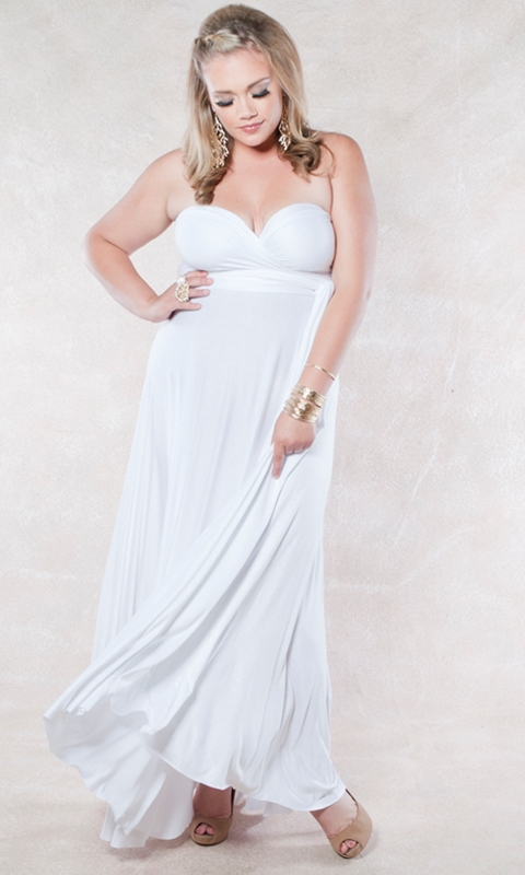 Plus Size Long Gown
