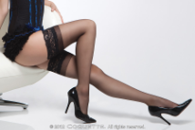 Plus Size Hosiery, Coquette Stockings