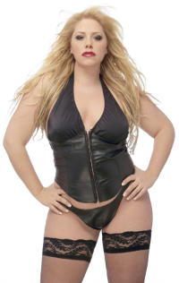 Plus Size Leather Clothing