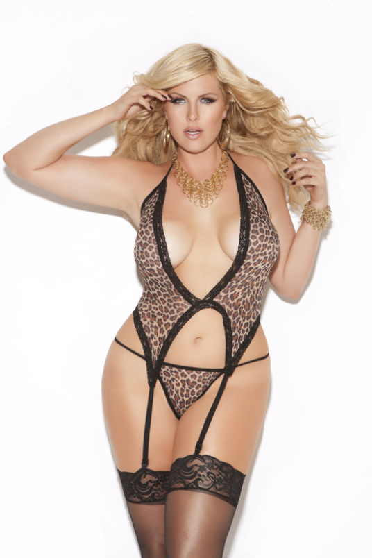 Plus Size Lingerie, Plus Size Cami by Elegant Moments - 8511Q