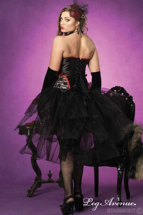 Plus Size Lingerie, Plus Size Bustle Skirt by Leg Avenue - HOT!