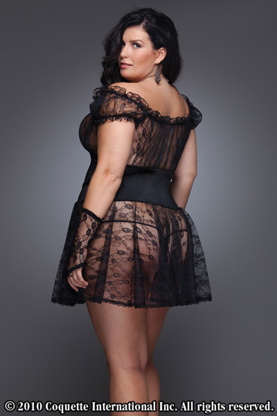 Coquette Lingerie in Plus Sizes - Babydall