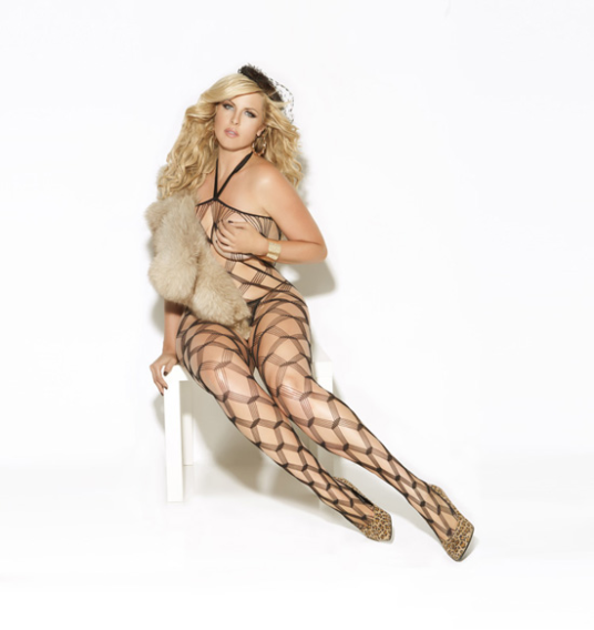 Plus Size Bodystocking - Sizzling!