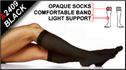 Light Support Knee High Socks