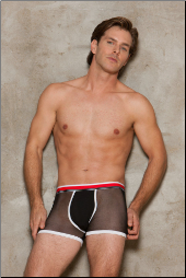 Modal and Mesh Boxer Brief