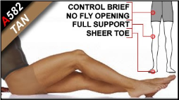Men's Sheer Pantyhose