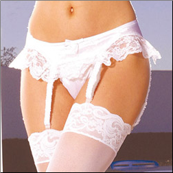 Plus Size * Satin* Garter