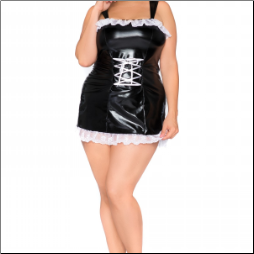 Sexy Plus Size Maid Costume