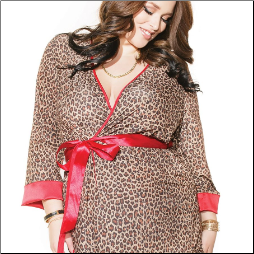Luxe Plus Size Robe