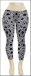 Plus Size Leggings, Hacci