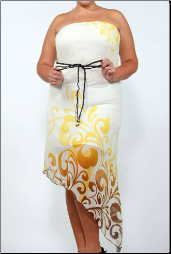 Plus Size Long Dress - Summer Sizzler