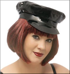 Women's Patent Hat - H-100X