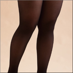 Opaque Plus Size Pantyhose, 3X-4X and 5X-6X