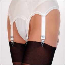 6 Strap Traditional Garter Belt