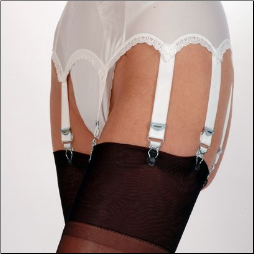 8 Strap Garter Belt for Full Figures