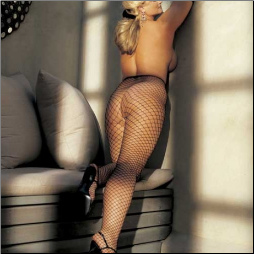Fishnet Stockings with Big Holes