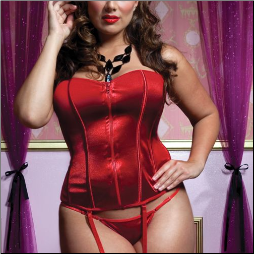 Perfectly Polished Plus Size Corset