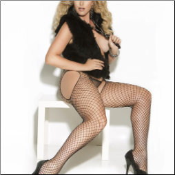 Diamond Net Pantyhose