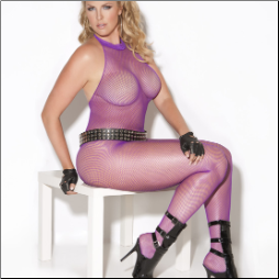 Fishnet Bodystocking - Plus Sizes